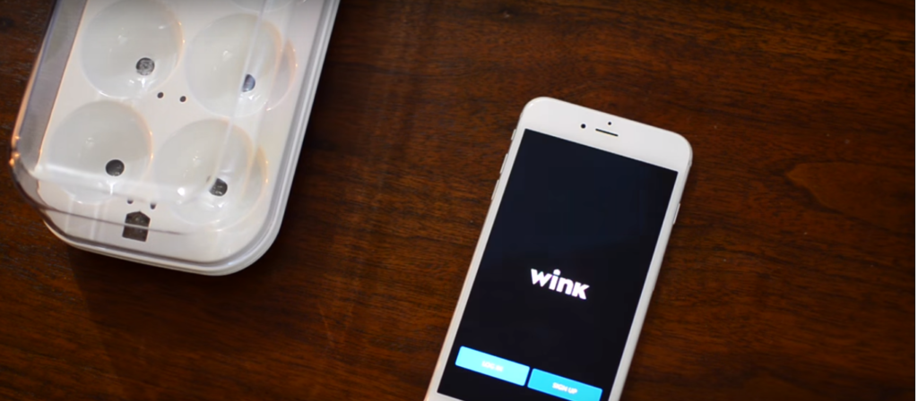 wink app enabled egg tray