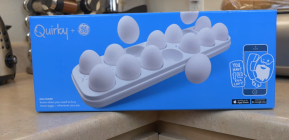 Smart Egg Tray – Quirky Egg Minder Review & Buyer's Guide 2018