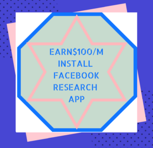 FACEBOOK RESEARCH APP