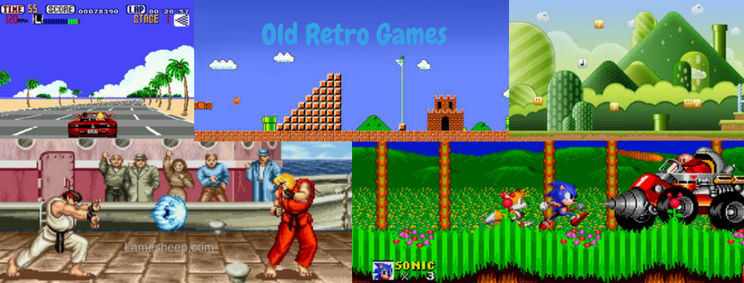 Old Retro Games -Buy Retro games