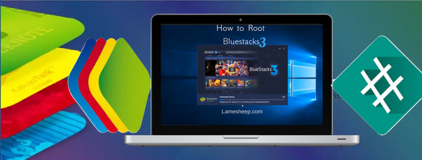how to root bluestacks 3