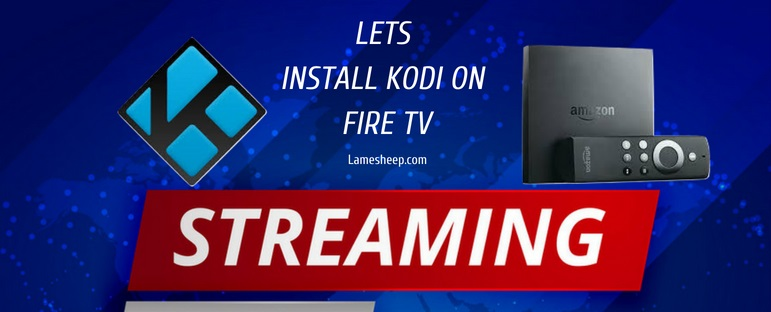 install kodi on fire tv