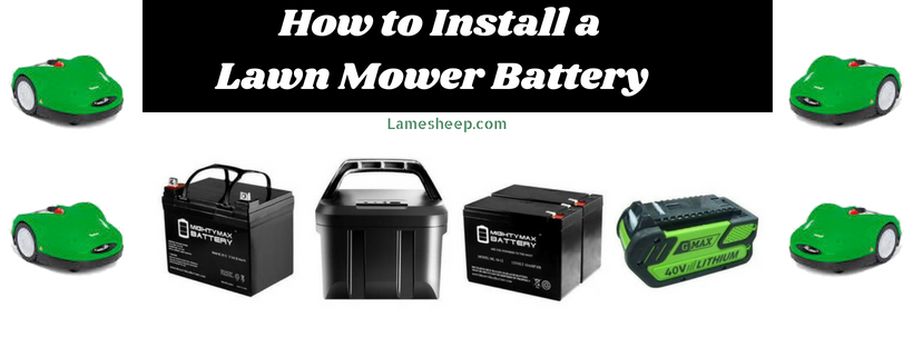 How to Install a Lawn Mower Battery