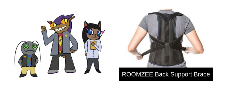ROOMZEE Back Support Brace