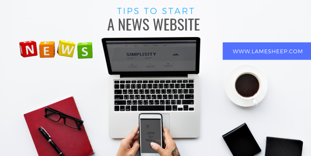 start a news website