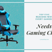 Top Five Reasons Why Every Gamer Needs a Gaming Chair