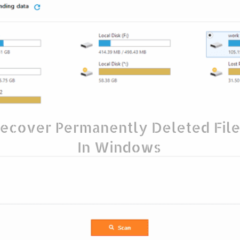 How to Recover Permanently Deleted Files in Windows?
