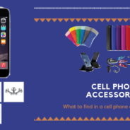 What to find in a cell phone accessory store