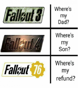 what fallout fans says