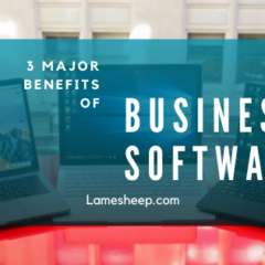 3 Major advantages and benefits of Business Software