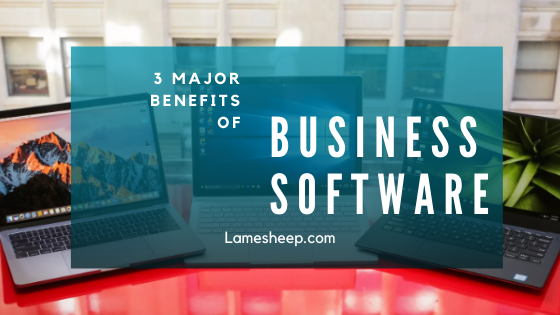 benefits of business software
