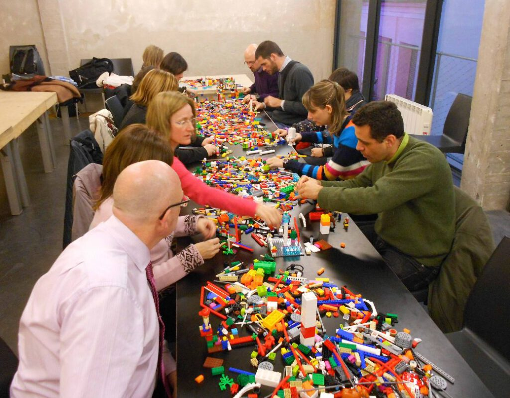 Inspires creativity The Adult Fans of Lego are still fascinated by bricks